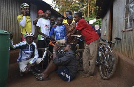The Kibera Cycling Club