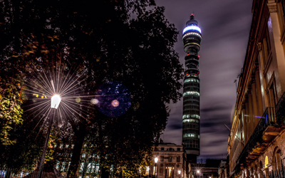 Win dinner in the sky at BT Tower's Dining Club