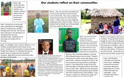My community – a child's story