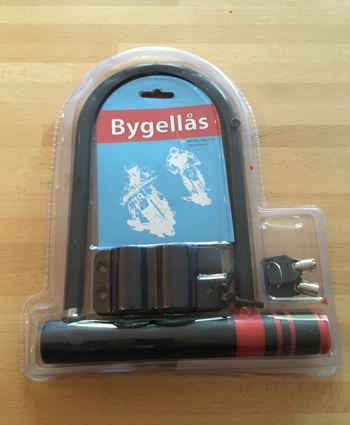 Bygellas Artikel bike lock