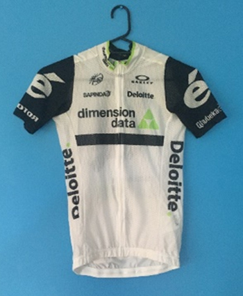 Dimension Data cycling jersey