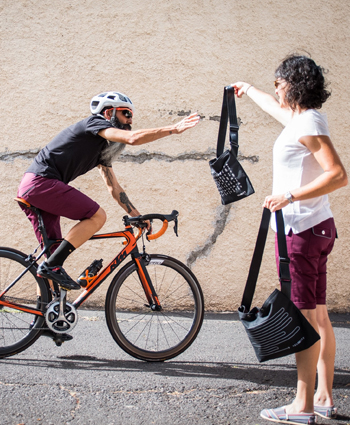 Musette bags from Velocity Cycle Wear