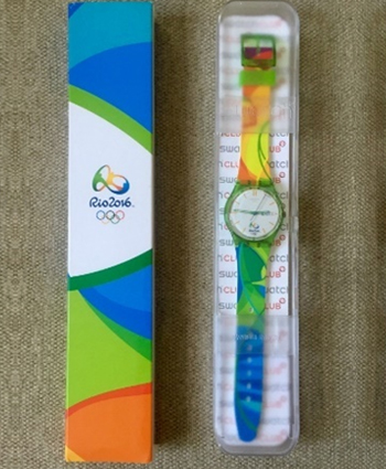 Rio Olympics volunteers Swatch watch