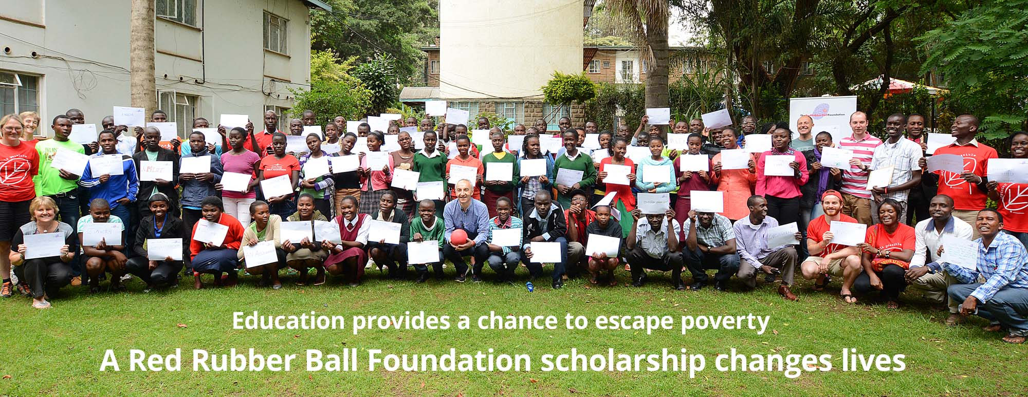 A Red Rubber Ball Foundation scholarship changes lives