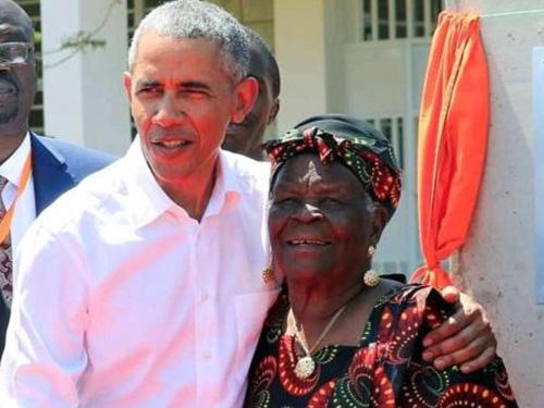 Grandma Sarah Obama